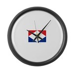 Saba.jpg Large Wall Clock