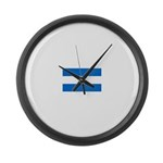 Nicaragua.jpg Large Wall Clock