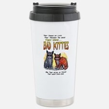 11by14badkities.psd Stainless Steel Travel Mug
