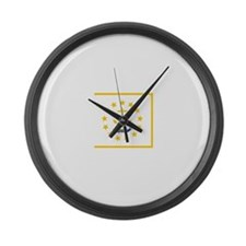 Rhode Island.jpg Large Wall Clock