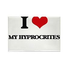 I Love My Hyprocrites Magnets