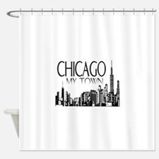 Chicago My Town Shower Curtain