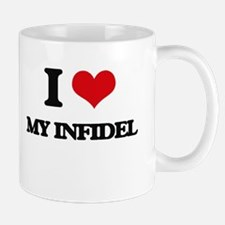 I Love My Infidel Mugs