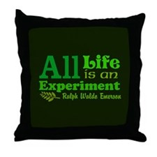 All Life Throw Pillow