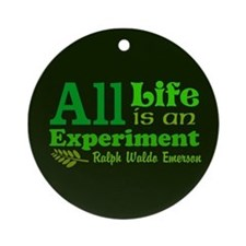 All Life Ornament (Round)