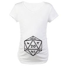 Unique D20 dice Shirt