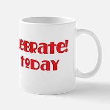 Celebrate: 50 birthday Mug