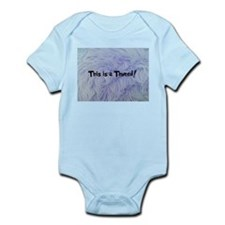 This is a Thneed! Blue - The Lorax Body Suit