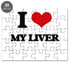 I Love My Liver Puzzle