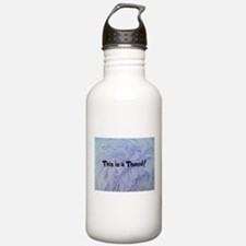 This is a Thneed! Blue Water Bottle