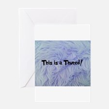 This is a Thneed! Blue - The Lorax Greeting Cards