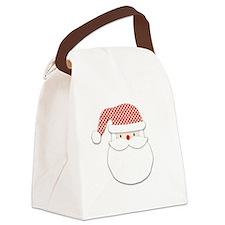 Santa Claus Canvas Lunch Bag