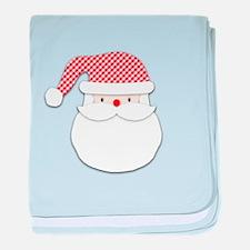Santa Claus baby blanket