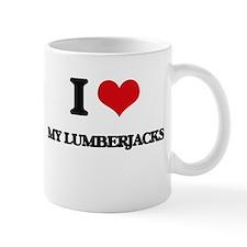 I Love My Lumberjacks Mugs