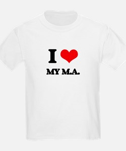 I Love My M.A. T-Shirt