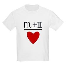 Scorpio + Gemini = Love T-Shirt