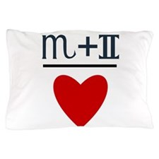 Scorpio + Gemini = Love Pillow Case