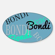 Bondi Beach! Beachy Blue Decal
