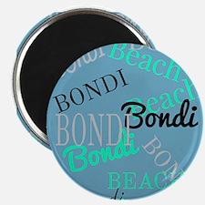 Bondi Beach! Beachy Blue Magnets