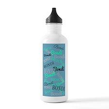 Bondi Beach! Beachy Blue Sports Water Bottle