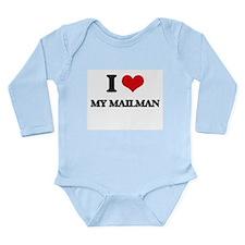 I Love My Mailman Body Suit