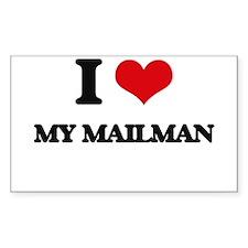 I Love My Mailman Decal