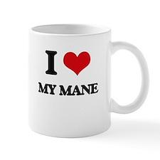 I Love My Mane Mugs