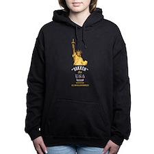 Bakken Oil Dark Women's Hooded Sweatshirt