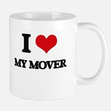 I Love My Mover Mugs