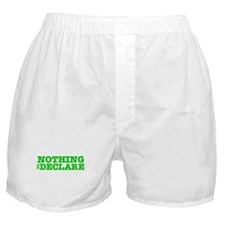 NOTHING TO DECLARE:- Boxer Shorts