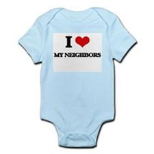 I Love My Neighbors Body Suit