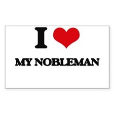 I Love My Nobleman Decal