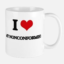 I Love My Nonconformist Mugs
