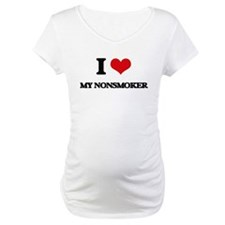 I Love My Nonsmoker Shirt