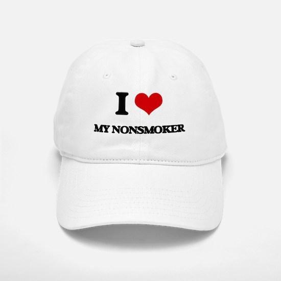I Love My Nonsmoker Baseball Baseball Cap