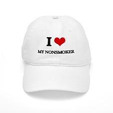 I Love My Nonsmoker Baseball Cap