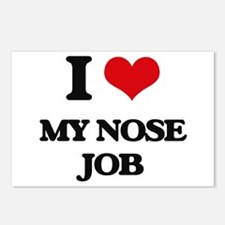 I Love My Nose Job Postcards (Package of 8)