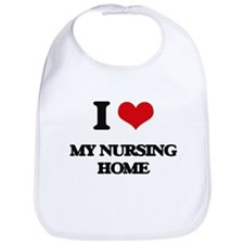I Love My Nursing Home Bib