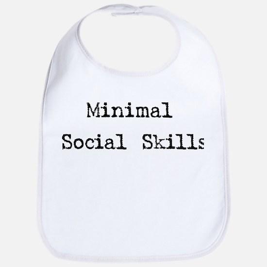 Minimal Social Skills Bib