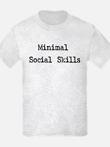 Minimal Social Skills T-Shirt