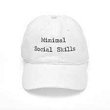 Minimal Social Skills Baseball Cap