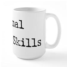 Minimal Social Skills Mug