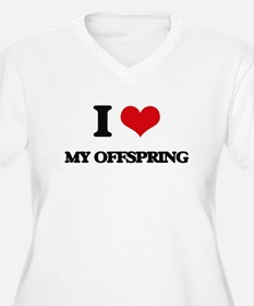 I Love My Offspring Plus Size T-Shirt