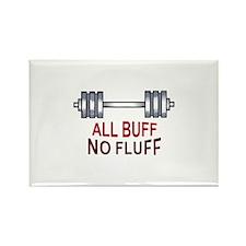 ALL BUFF NO FLUFF Magnets