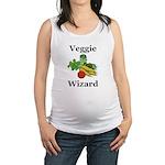 Veggie Wizard Maternity Tank Top