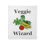 Veggie Wizard Throw Blanket