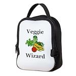 Veggie Wizard Neoprene Lunch Bag