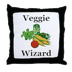 Veggie Wizard Throw Pillow