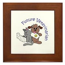 FUTURE VETERINARIAN Framed Tile