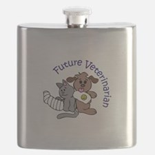FUTURE VETERINARIAN Flask